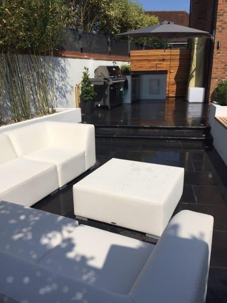 outdoor kitchens pizza ovens allium designs. Black Bedroom Furniture Sets. Home Design Ideas