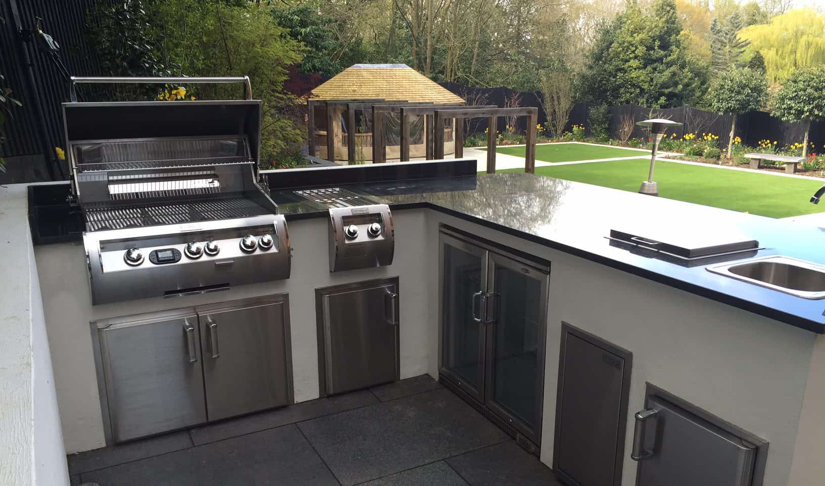 Outdoor Kitchens And Pizza Ovens By Allium Designs Kent
