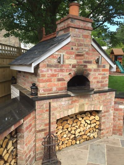 Pizza Oven by David Stead Landscapes Ltd